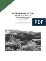Diccionario de Chatino