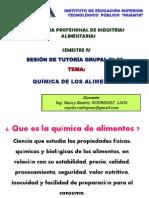 I SESION GRUPAL_QUIMICA DE LOS ALIMENTOS I.ppt