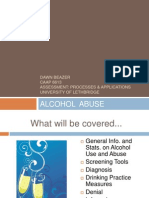 eportfolio alcohol abuse