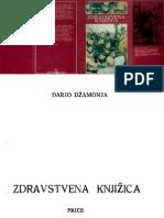 Dario Dzamonja Zdrastvena Knjizica