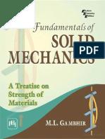 Fundamental of Solid Mechanics M.L. Gambhir