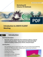 Fluent Meshing 14.5 WS2 Volume Fill Methods