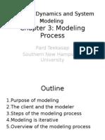 BDSM-CH3 Modeling Process