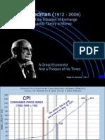 Monetarism and Money supply