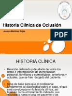 Historia Clinica de Oclusion