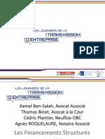 Comprendre Les Financements Complexes JTE 2013
