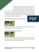 Kliping Teknik Sepak Bola