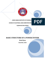 Basic Structure of a Power System