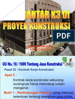 PENGANTAR K3 Konstruksi
