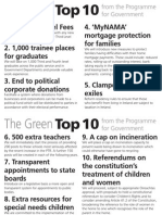 The Greens' Top 10 from the new Programme for Government