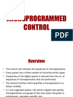 #7 - Microprogrammed Control