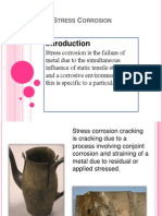 Stress Corrosion