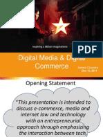 76777797 IPR Issues in Digital Media and Digital Commerce Ashish Chandra