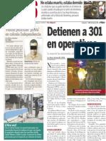 Policiaca  24 de febrero 2014
