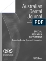 Australian Dental Journal Research Special Edition
