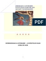 sfanta liturghie si explicarea ei