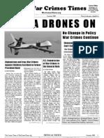 War Crimes Times -- Summer  2009