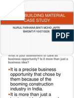 Green Building Material Case Study Present