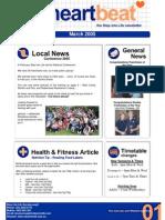 1-Heartbeat Newsletter MARCH 2005