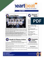 2-Heartbeat Newsletter APRIL 2005