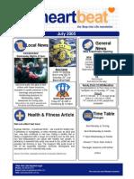 5-Heartbeat Newsletter JULY 2005