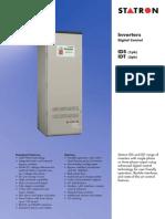 Inverter Type IDS, IDT-Statron