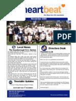 9-Heartbeat Newsletter NOVEMBER 2005