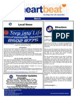 13-Heartbeat Newsletter MARCH 2006