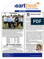 14-Heartbeat Newsletter APRIL 2006