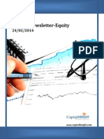 Weekly Stock Market Newsletter 24-02-2014 to 28-02-2014