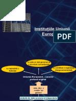 Curs 3. Institutiile Uniunii Europene