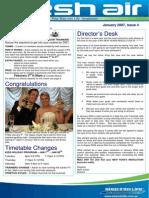 23 - Fresh Air Newsletter JANUARY 2007