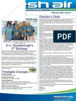 24 - Fresh Air Newsletter FEBRUARY 2007