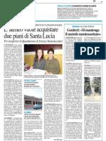 L'ateneo vuole acquistare due piani di Santa Lucia - Il Resto del Carlino del 23 febbraio 2014