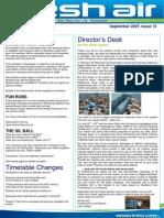 31 - Fresh Air Newsletter SEPTEMBER 2007