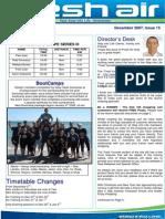 34- Fresh Air Newsletter DECEMBER 2007