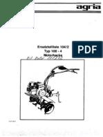 Motocultor Agria Piese de Schimb