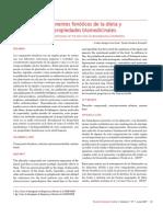 2007. Componentes Fenolicos de La Dieta y Sus Propiedades Biomedicinales
