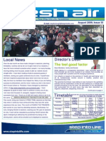 54- Fresh Air Newsletter AUGUST 2009 Keysborough