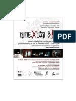 Tournée de création d'Amexica sKin - 2009