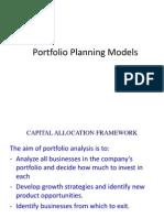 2-Portfolio Planning Models