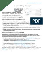Socialmediablog.nl-social Media Metrics Welke KPIs Geven Inzicht