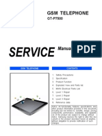 Samsung Gt-p7500 Galaxy Tab 10.1 3g Service Manual