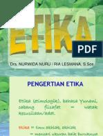 K - 5 Etika