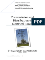 Transmission and Distribution of Electrical Power