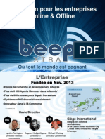Beepxtra_Presentation_Jan_2014_FR BUSINESS.pps