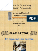 Plan Lector 6