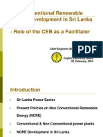 Role of the State Institutions in Promoting Renewable Energy