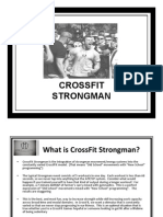 Cross Fit Strongman Manual