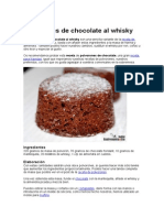 Polvorones de Chocolate Al Whisky